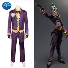 online get cheap arkham joker costume aliexpress com alibaba group