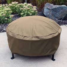 Firepit Covers Sunnydaze Heavy Duty Weather Resistant Pit Cover With