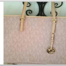 light pink michael kors handbag michael kors handbags michael kors light pink tote poshmark