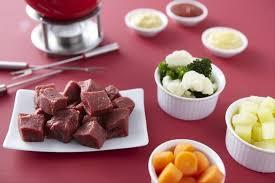 cuisiner viande à fondue recette de fondue bourguignonne facile et rapide