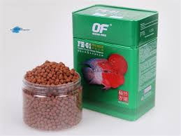 ornamental fish feed for flower horn up fish food of fh g1