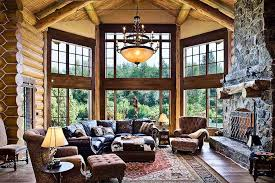 Log Home Pictures Interior Log Home Builders Architects
