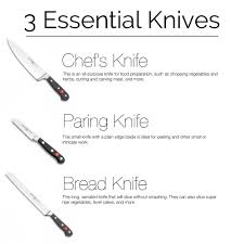 Kitchens Knives by Three Must Have Kitchen Knives