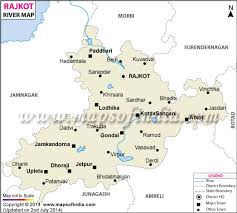 map of rajkot river map