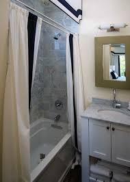 Shower Curtain And Valance Shower Curtain Valance Contemporary Bathroom Ej Interiors