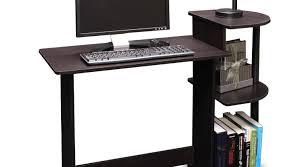desk computer desk with shelves anticipation computer desk for