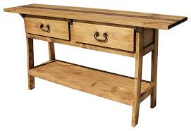 Pine Side Table Rustic Pine Console Table U2013 Launchwith Me