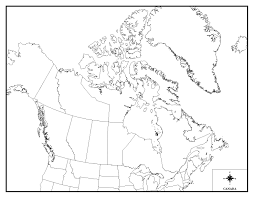 Blank Continent Map Download Blank Canada Map Quiz Major Tourist Attractions Maps