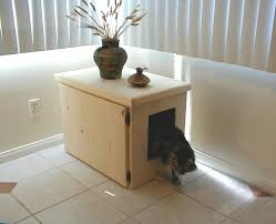 Kitty Litter Bench Cat Litter Boxes As Furniture The Unique Cat Litter Box Cabinet