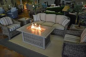 Bar Height Fire Table Fire Pits Outdoor Rooms By Design
