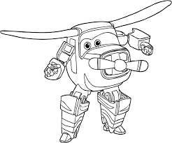 bello super wings coloring pages