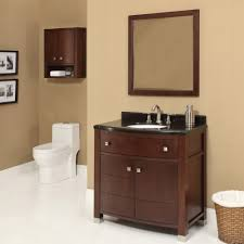 decolav adrianna 36 inch dark walnut bathroom vanity