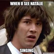 Natalie Meme - singing