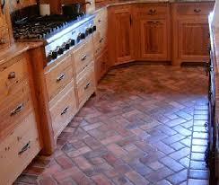 8 inspirational photos of gorgeous brick flooring brick kitchen