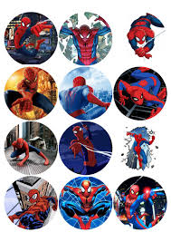 spiderman edible printing pinterest spiderman and birthdays