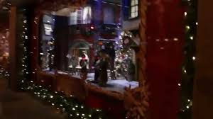 Christmas Decorations For Bay Window by Miracle At The Hudson U0027s Bay Christmas Windows 2015 Toronto Youtube