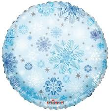snowflake balloons snowflake balloons 18 snowflake helium balloon 1ct