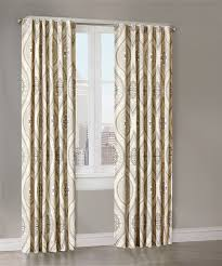 Echo Design Curtains Lanterna Window Panels Sandstone Echo Design