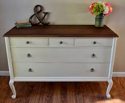 Decorating Dresser Top by Helen Nichole Designs Dresser In Navajo White U0026 Giveaway Winner