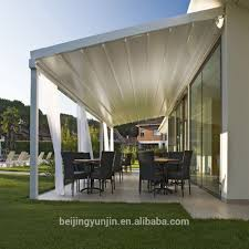 Motorized Pergola Cover by Electric Awnings For Pool Electric Awnings For Pool Suppliers And