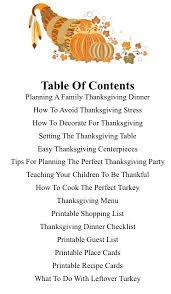 the ultimate guide to planning thanksgiving dinner menu planning