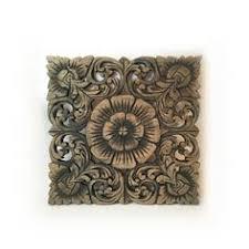 wood wall decor lotus flower home decor decorative wall