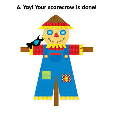 thanksgiving crafts make a scarecrow printable alexbrands