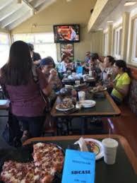 round table hermosa beach 2017 pizza fundraiser south bay catholic softball league