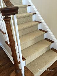 Rug Runner For Stairs Calypso In The Country A Sisal Substitute For The Stairs