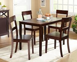 espresso dining room set amazon com target marketing systems ian collection 5 piece indoor