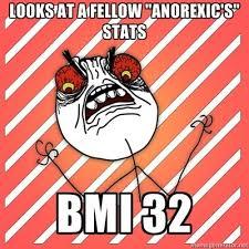 Eating Disorder Meme - eating disorder memes does my bum look big in this