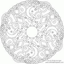 om mandala coloring pages celtic mandala coloring pages many interesting cliparts