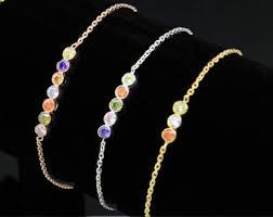 bracelets with birthstones birthstone bracelet etsy