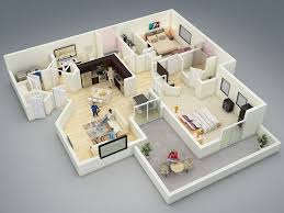 two bed room house best 25 2bhk house plan ideas on two bedroom house