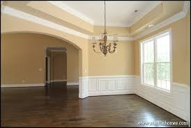 Wainscoting Ideas For Dining Room by Dining Room Lighting Photos Raleigh New Homes