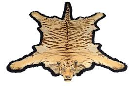 taxidermy a van ingen and van ingen tiger skin rug circa 1900 the