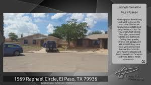 1569 raphael circle el paso tx 79936 youtube