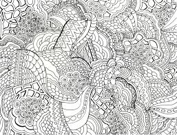 zen patterns coloring pages seahorse with tribal pattern coloring page in free zentangle