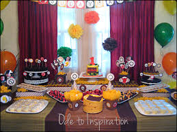 Halloween Themed Birthday Party by Themed Birthday Party Supplies Henol Decoration Ideas