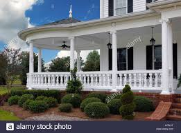southern style house traditional southern style porch usa ocoee tn stock photo royalty