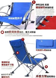 Beach Armchair Fishing Chairs Beach Chair Portable Folding Chair Aluminum Folding