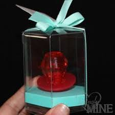ring pop boxes 6 hexagon shaped plastic boxes with gold bottoms ring pop favor