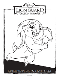 disney the lion guard free coloring pages mommy mafia