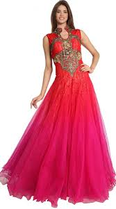 5 different indo western gowns for wedding indian fashion mantra
