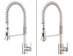 stainless steel kitchen faucets danze d455158ss parma single handle pre rinse faucet stainless
