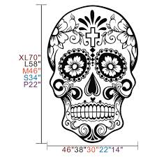 dia de los muertos home decor aliexpress com buy mexican sugar skull office stickers dia de