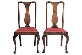 Queen Anne Armchair Antique Queen Anne Dining Chairs 4 Janney U0027s Collection