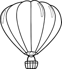 balloon coloring pages up air balloon coloring page wecoloringpage