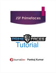 tutorial java primefaces jsf primefaces tutorial cookbook free ebook