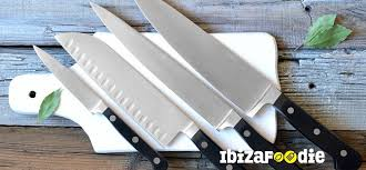 essential knives for the kitchen 10 essentials knives for your kitchen ibizafoodie